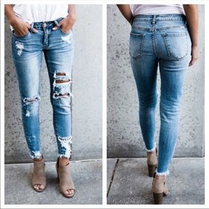 KanCan Distressed Jeans NWT